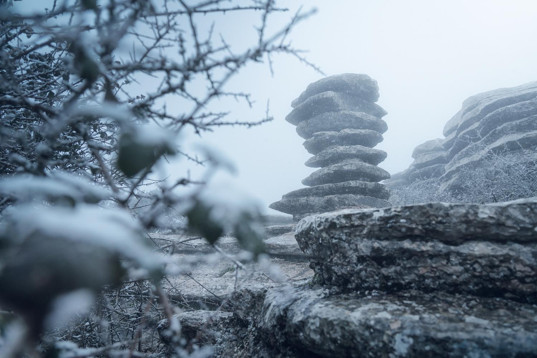 A screw between fog and snow ... by DaniGviews /Daniel