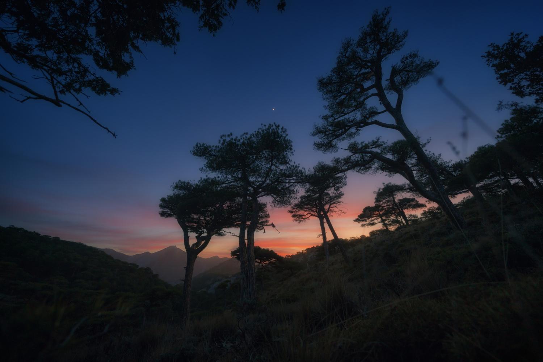 Beautiful sunset in the plains of Navahonda, Sierra de Cazorla by DaniGviews /Daniel
