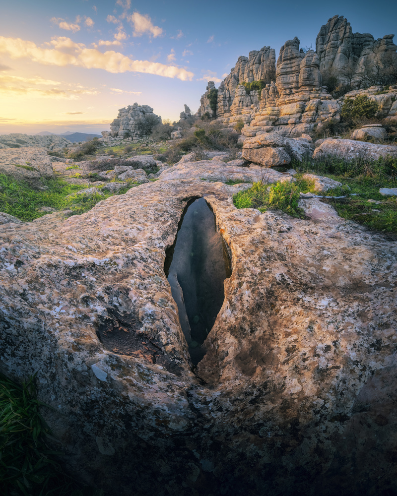 The eye of the Torcal by DaniGviews /Daniel