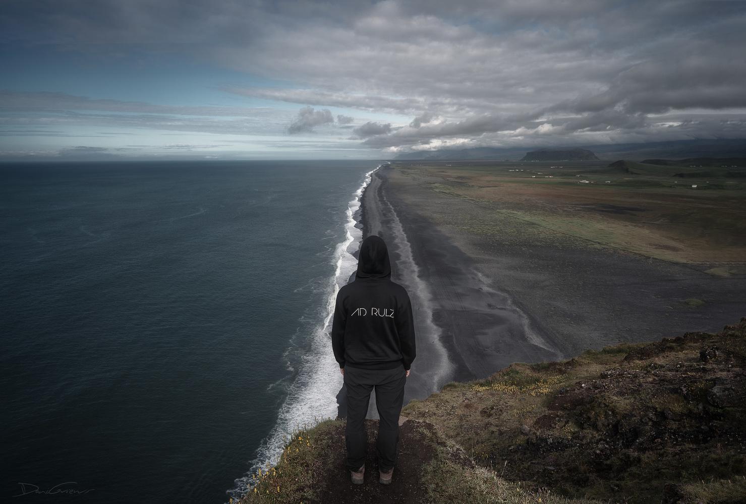 Dyrhólaey viewpoint, Iceland by DaniGviews /Daniel