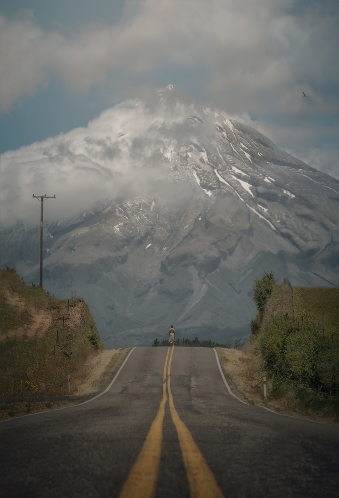 From the best perspectives of Mount Taranaki, New Zealand by DaniGviews /Daniel