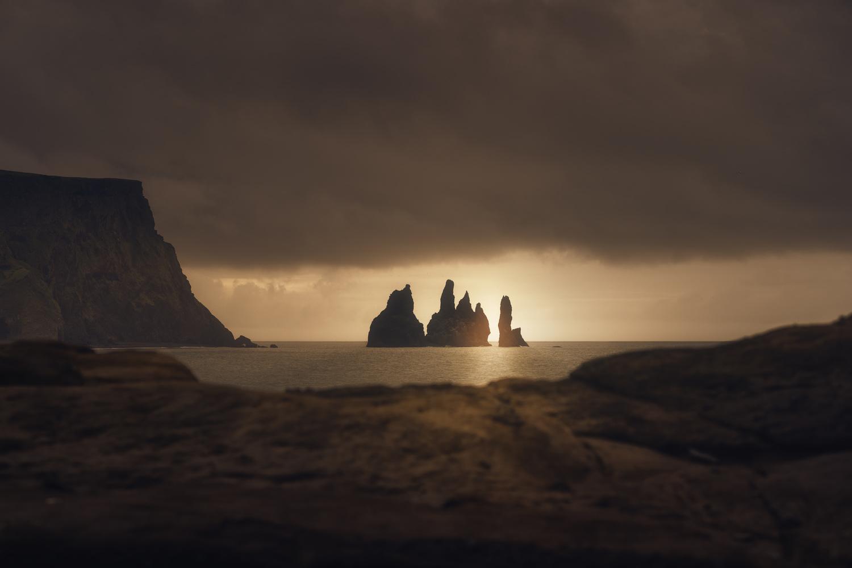 The Rocks of Reynisfjara, Vik, Iceland by DaniGviews /Daniel