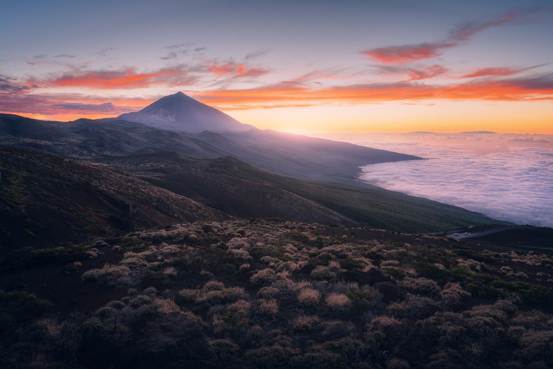 Teide´s Sunset by DaniGviews /Daniel