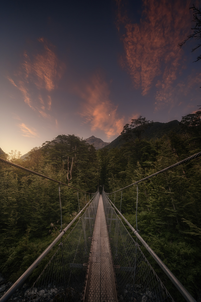 The last colors of the Routeburn Track, New Zealand by DaniGviews /Daniel