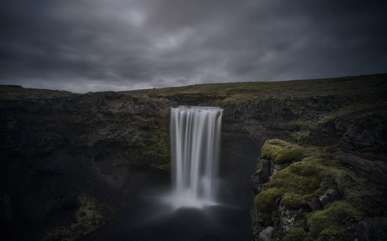 Flowering falls, Iceland by DaniGviews /Daniel