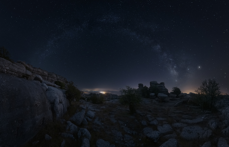 Milky Way over the Torcal de Antequera, Malaga, Spain by DaniGviews /Daniel