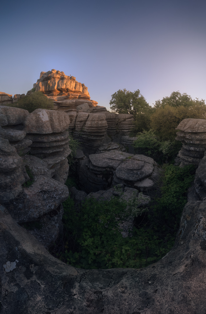 In the bowels of the Small Labyrinth, (Torcal de Antequera) by DaniGviews /Daniel
