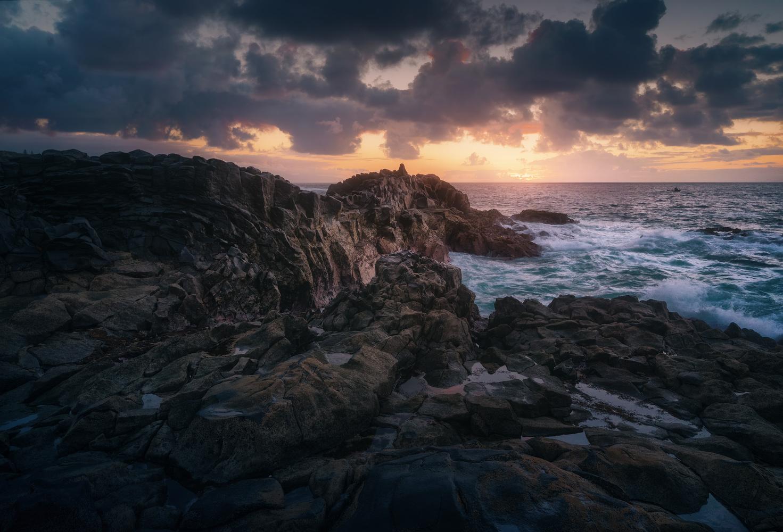 Sunset on the Tenerife coast by DaniGviews /Daniel