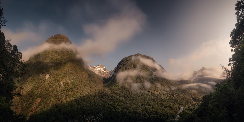 Panoramic view in Fiordland (New Zealand) by DaniGviews /Daniel