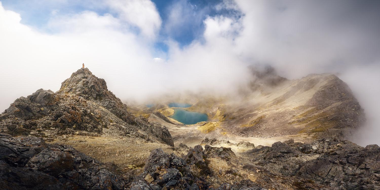 Panoramic views from Julius Summit (New Zealand) by DaniGviews /Daniel