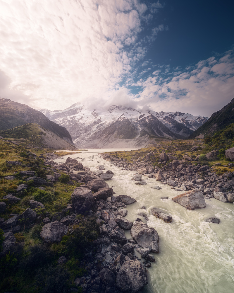 Hooker Valley, New Zealand by DaniGviews /Daniel