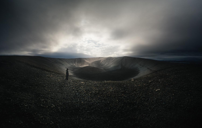 Hverfjal volcano in Iceland by DaniGviews /Daniel
