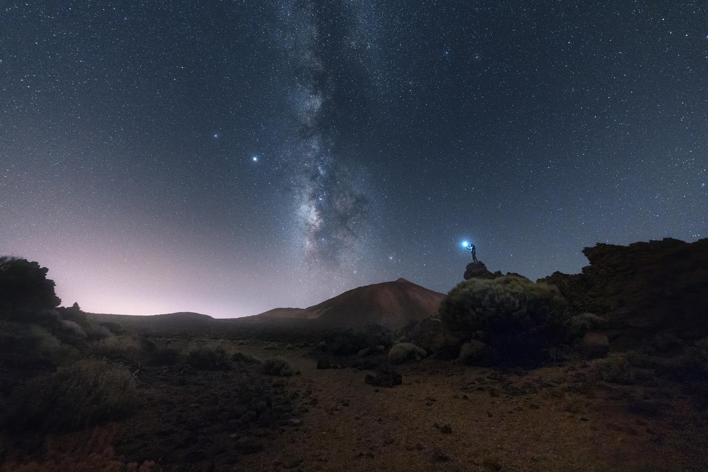 The milky way with Mount Teide by DaniGviews /Daniel
