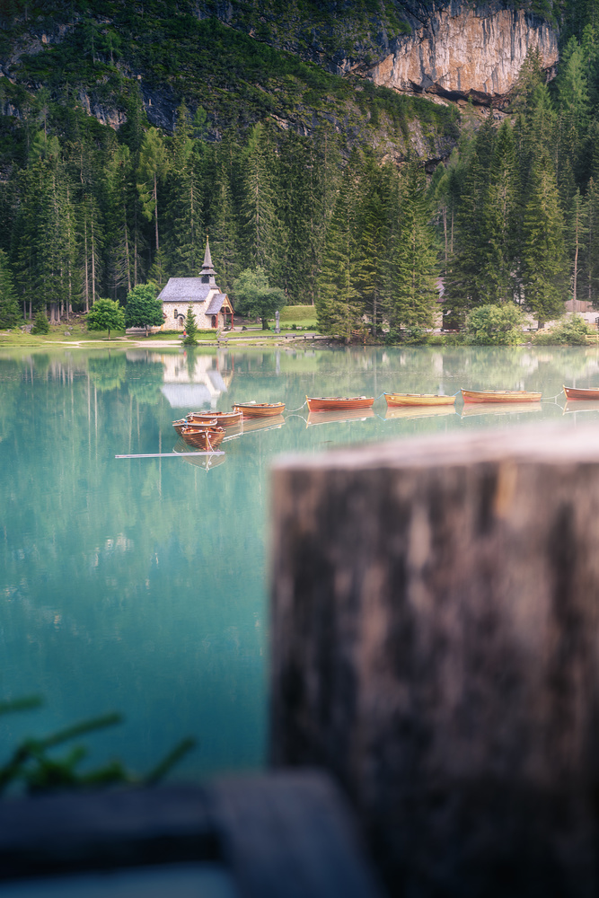 The boats of Lago Di Braies, by DaniGviews /Daniel