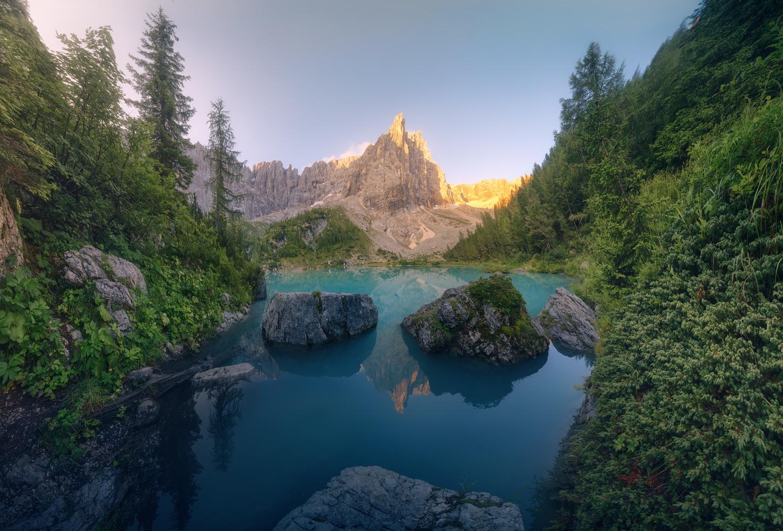 Charming corners in Lago di Sorapis by DaniGviews /Daniel