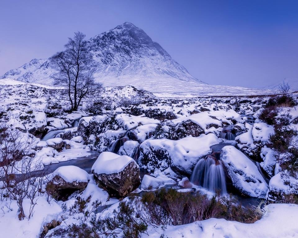 Scottish Winter by Jane Morrison