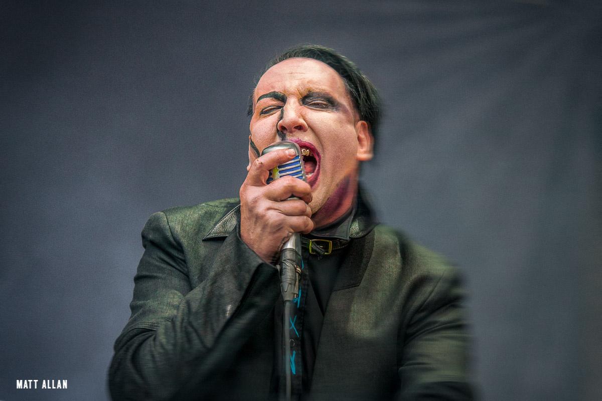 Marilyn Manson by Matt Allan