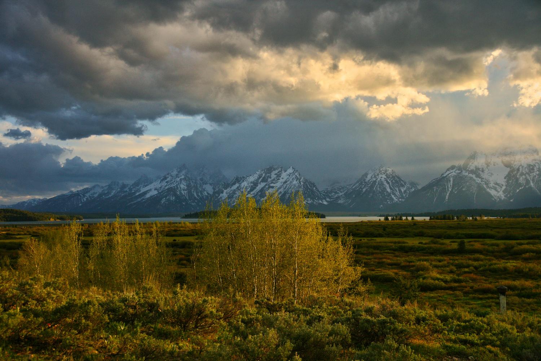 Storm-Grand Teton by J. Daniel Jenkins