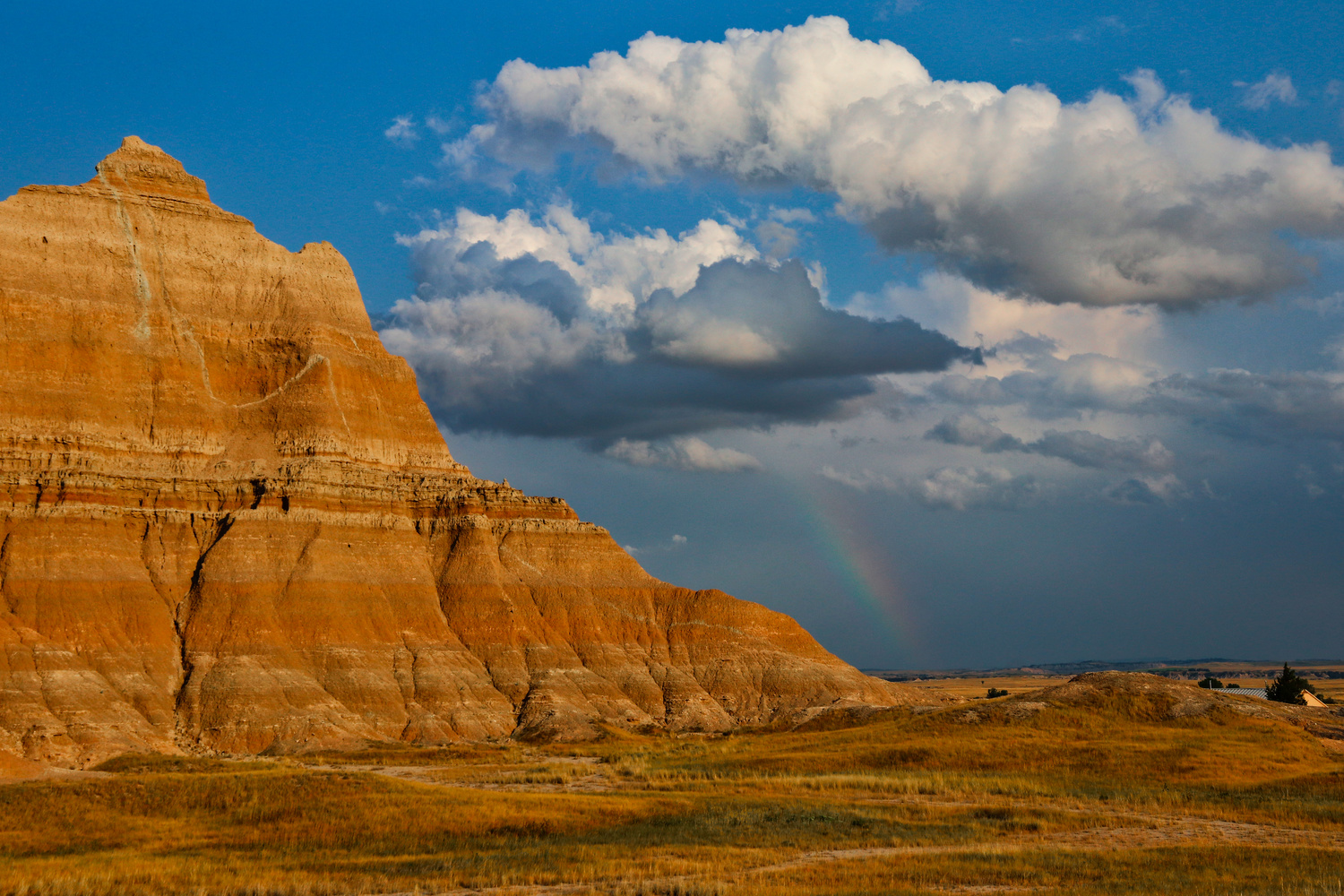 Rainbow-Badlands National Park by J. Daniel Jenkins