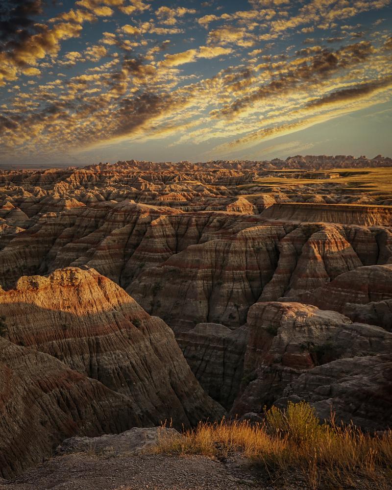 Sunset - Badlands National Park by J. Daniel Jenkins