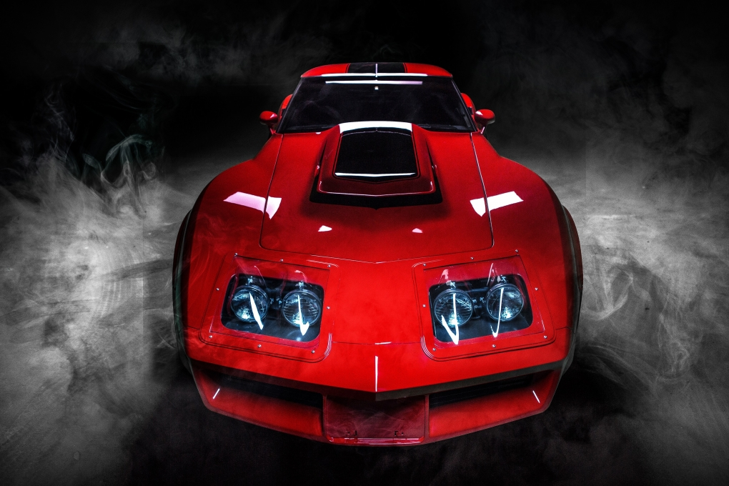 """Danny Koker """"The Count"""" Vette by Digital Macdaddy"""