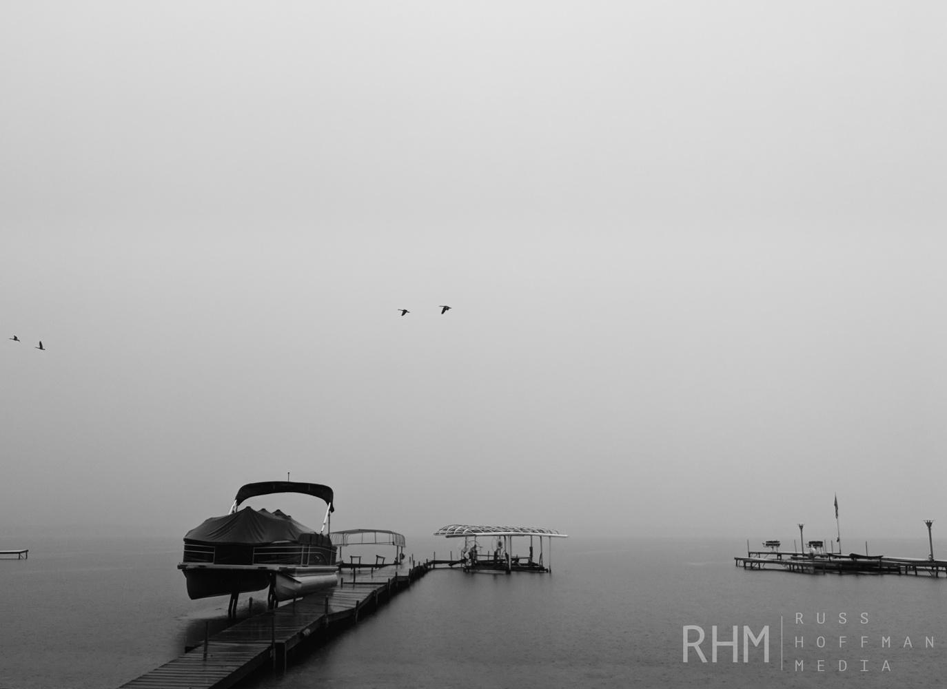 Foggy Lake by Russ Hoffman