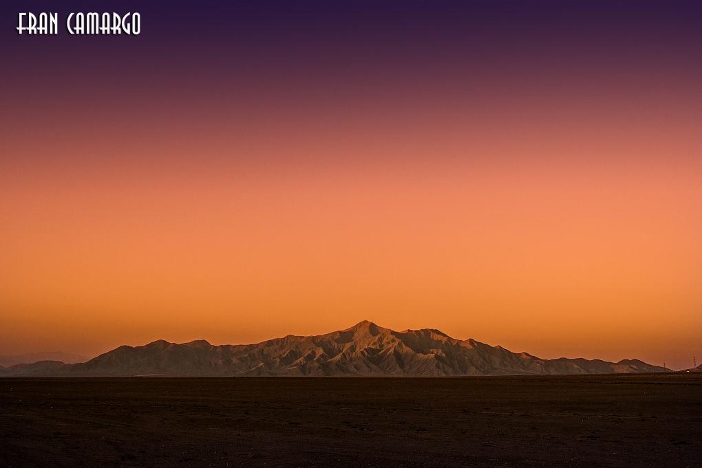Sunset at the Atacama Desert Chile by Francisco Eduardo de Camargo
