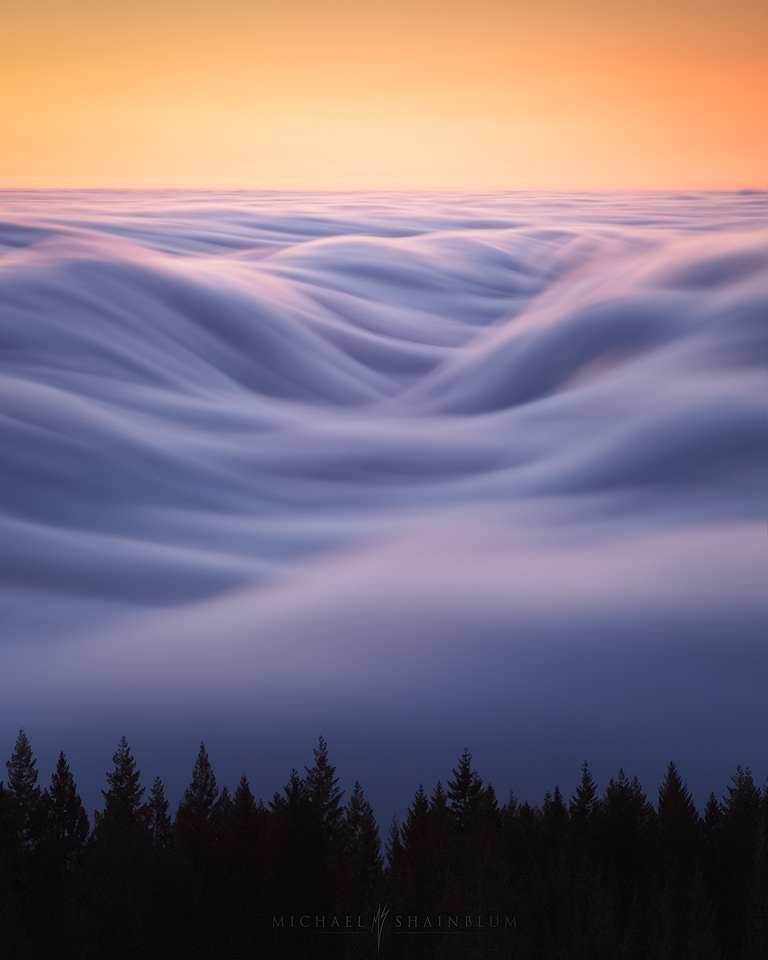 Cloudwave by Michael Shainblum