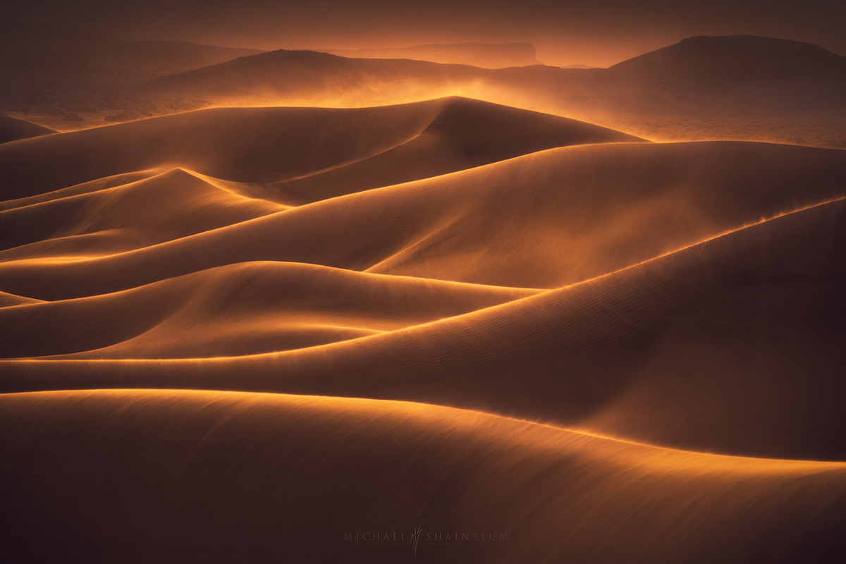 Hills of Gold by Michael Shainblum