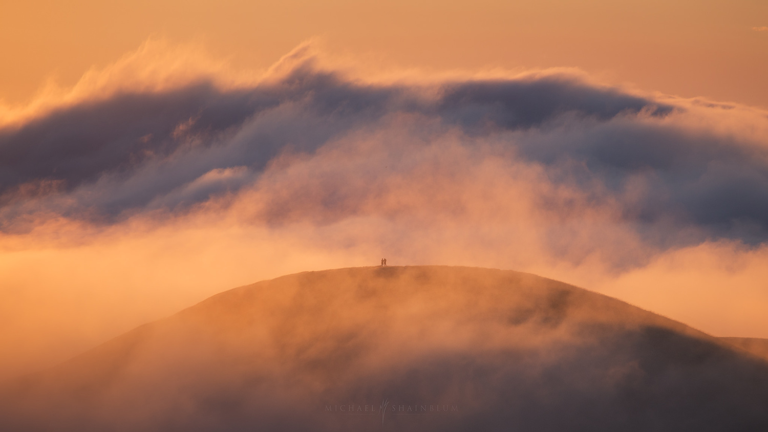Take me with you, through the clouds by Michael Shainblum