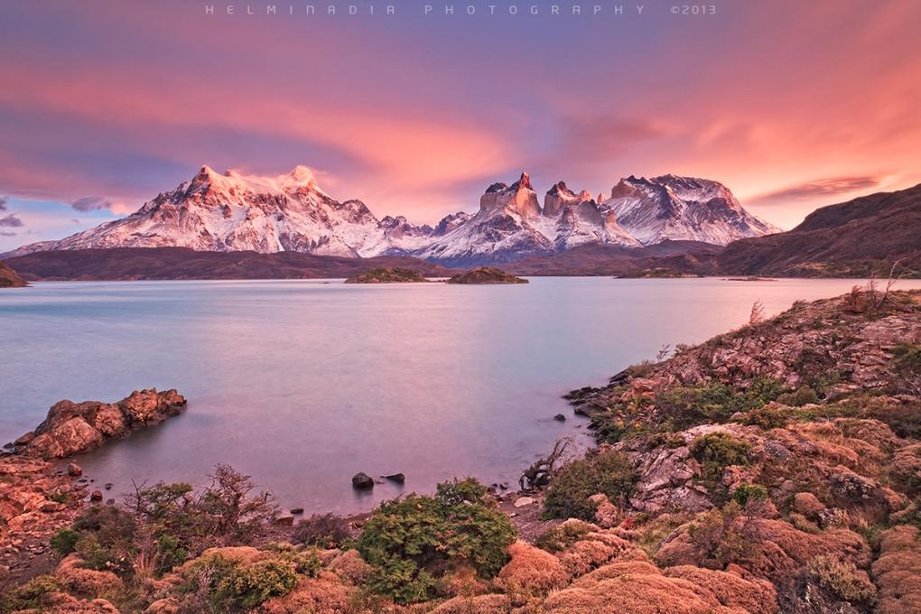 Patagonia Sunrise by Helminadia Ranford
