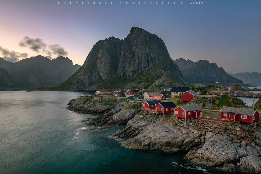Reine,Lofoten Island by Helminadia Ranford