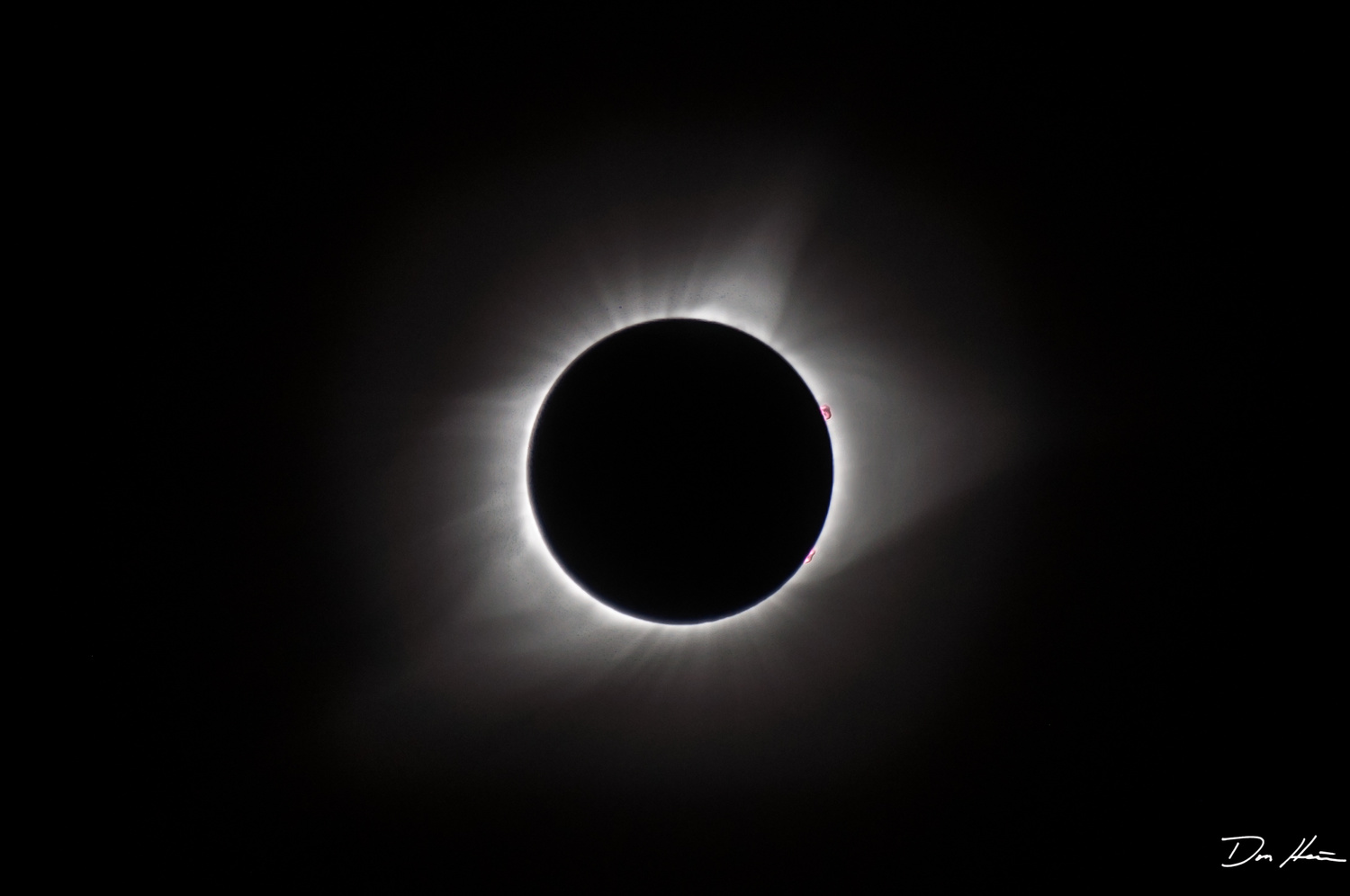 Solar Eclipse by Don Heaton