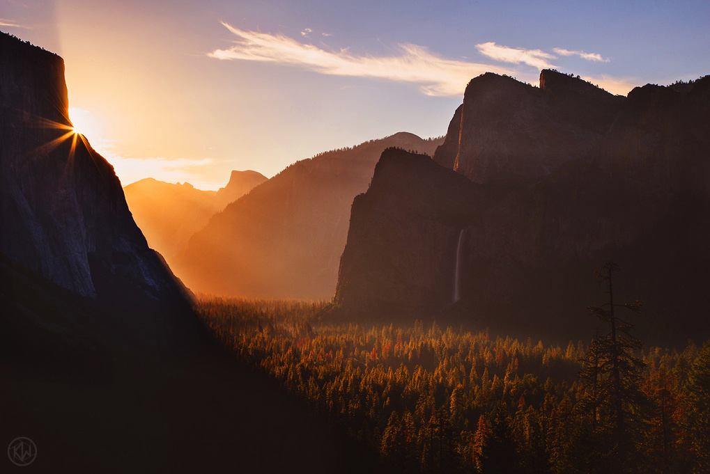 The Gates of Yosemite by Keith Walters