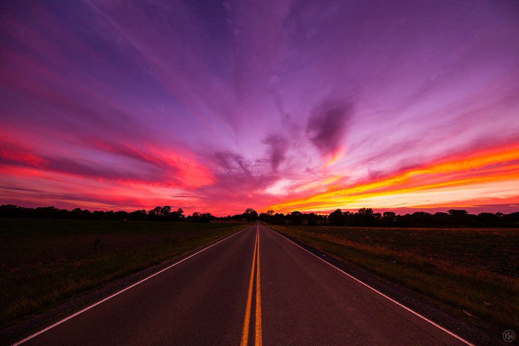 Down the Road by Keith Walters