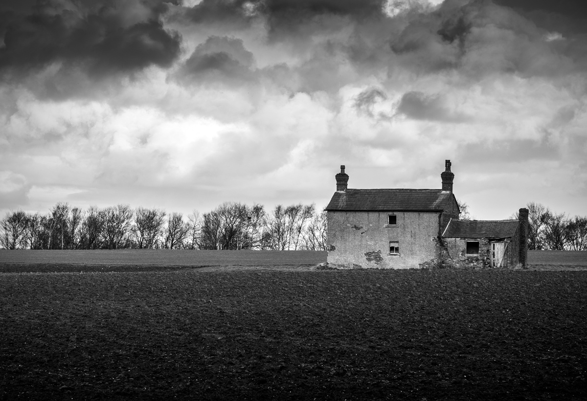 Derelict Farmhouse by Peter Jarvis