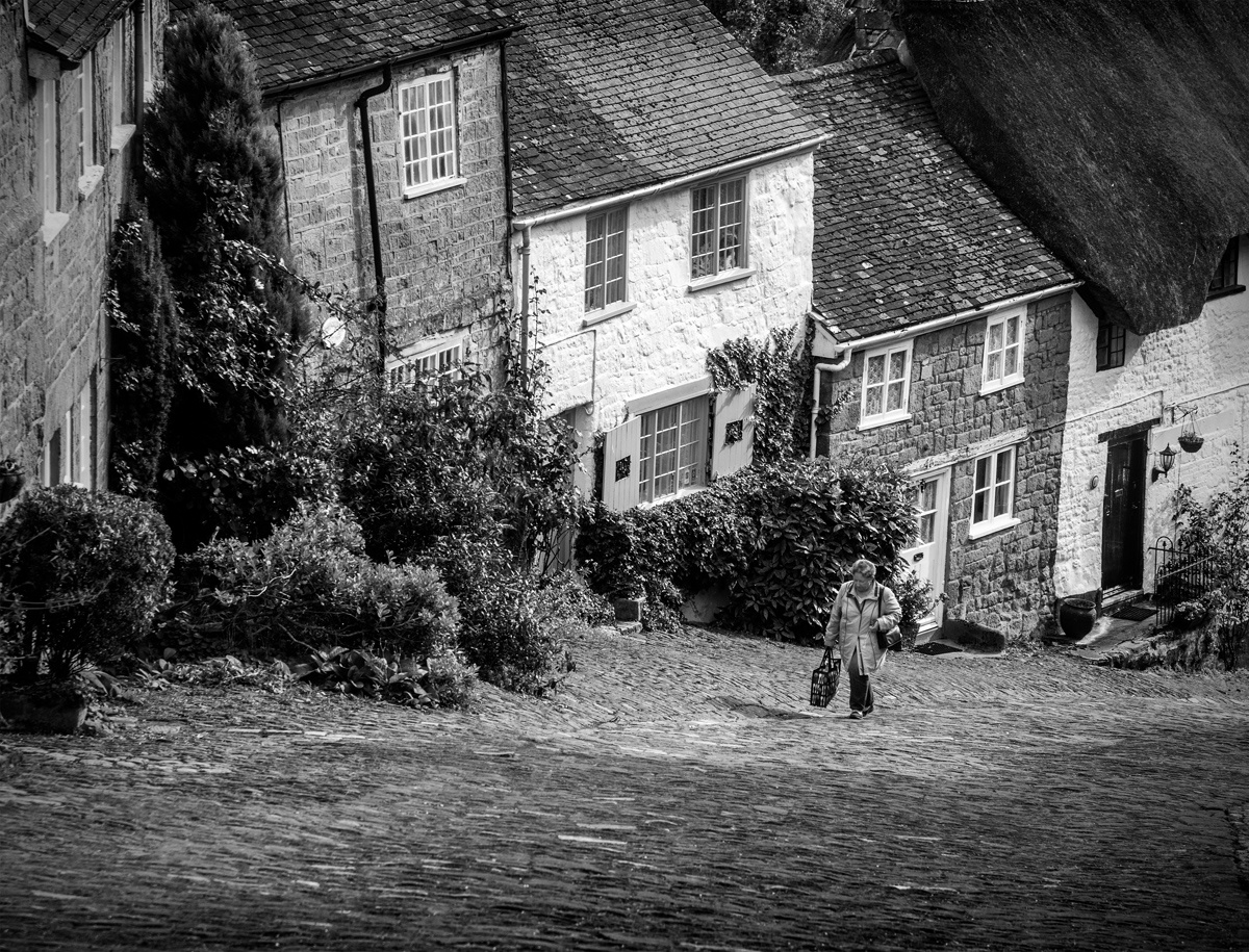 Going to the Shops by Peter Jarvis