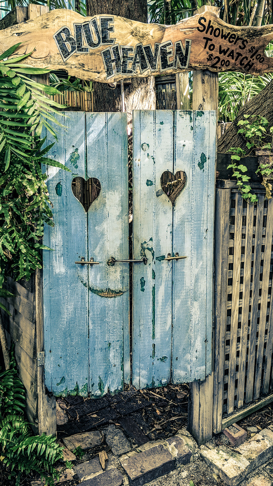 Blue Door - Key West by Robert Zilch