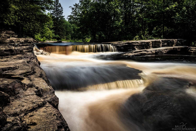 Canyon Falls - Upper by Robert Zilch
