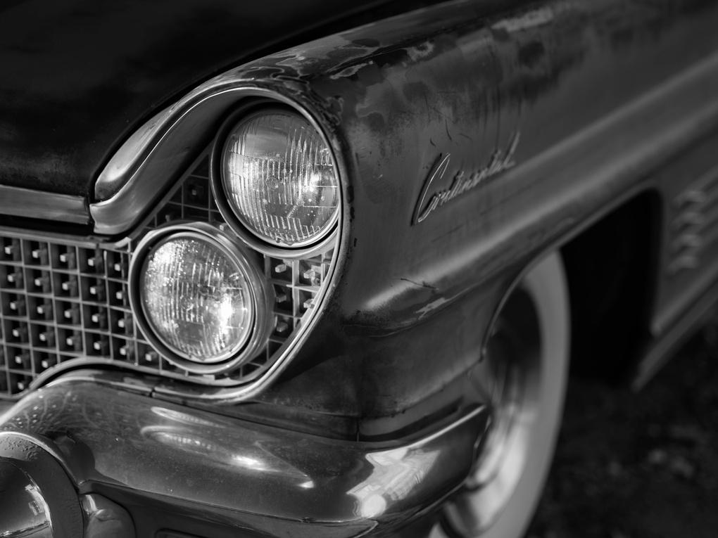 Lincoln Continental headlight by Trevor Gavin