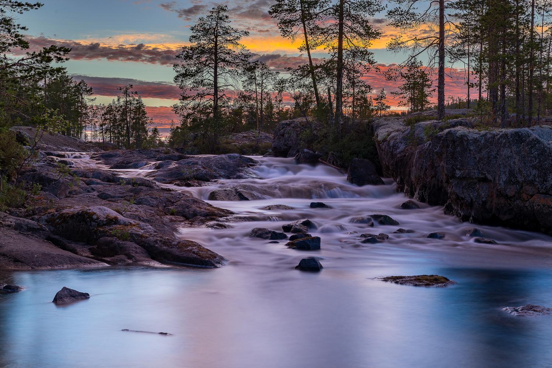 Midnight stream by Sven- Olaf Rogowski