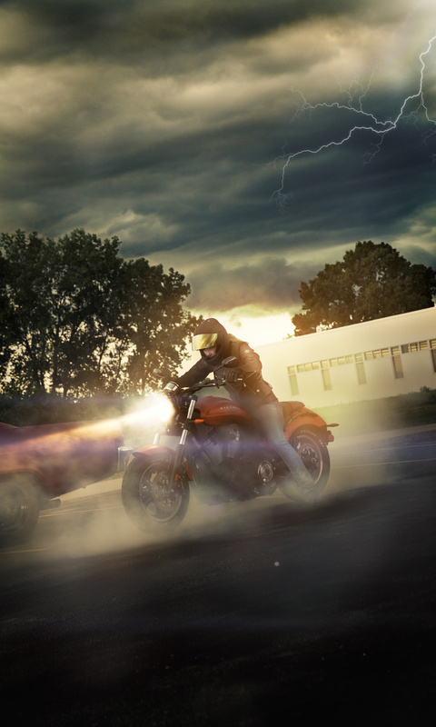 Motorcycle Storm by DJ Kast