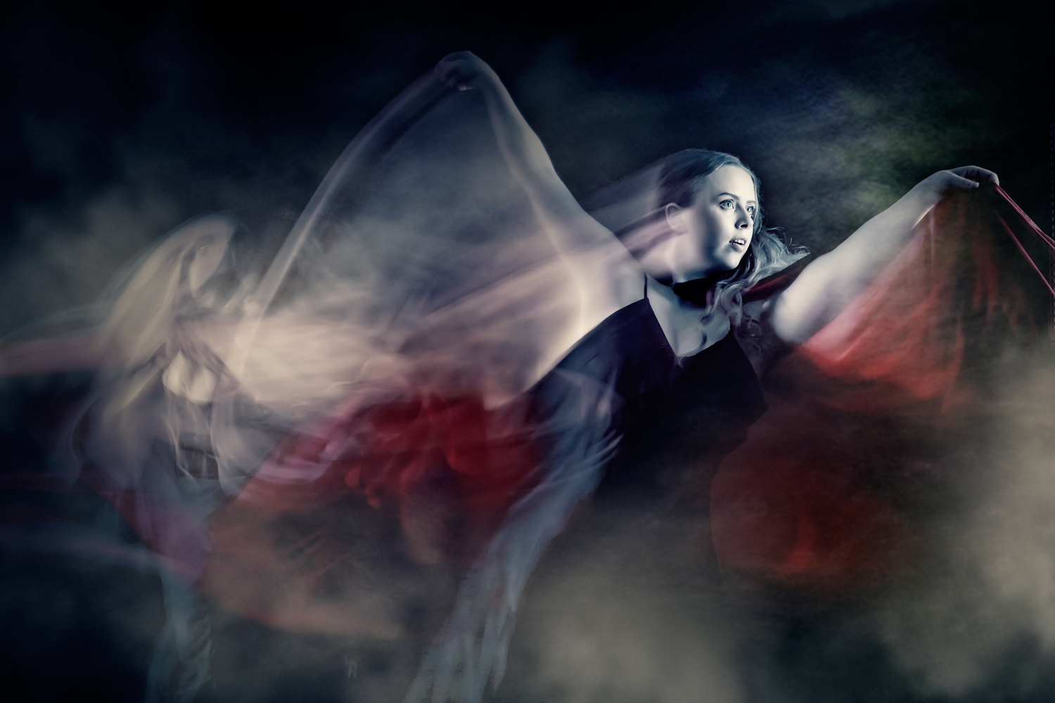 Rise of the Vampire - Abstract Dance by Hank Rintjema