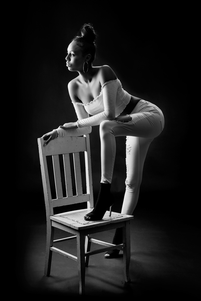 Black & White by Hank Rintjema