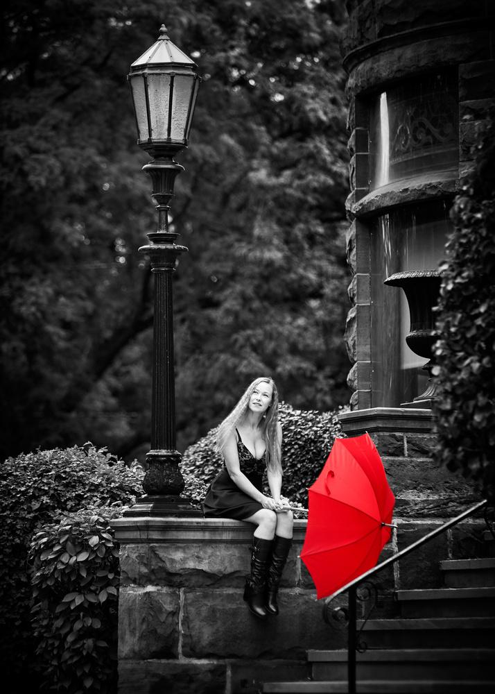 RED Umbrella Series by Hank Rintjema