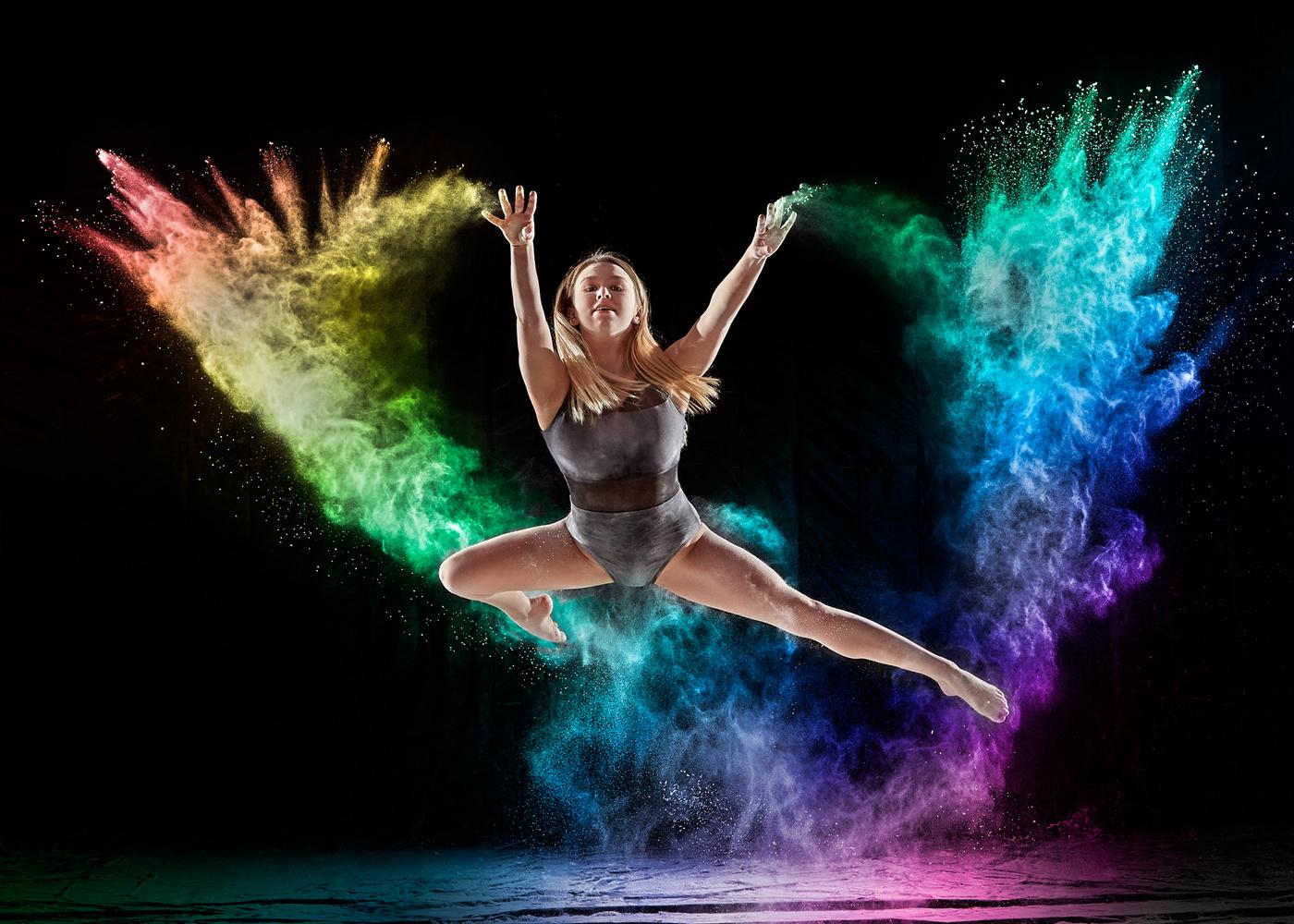 Rainbow Dance by Hank Rintjema