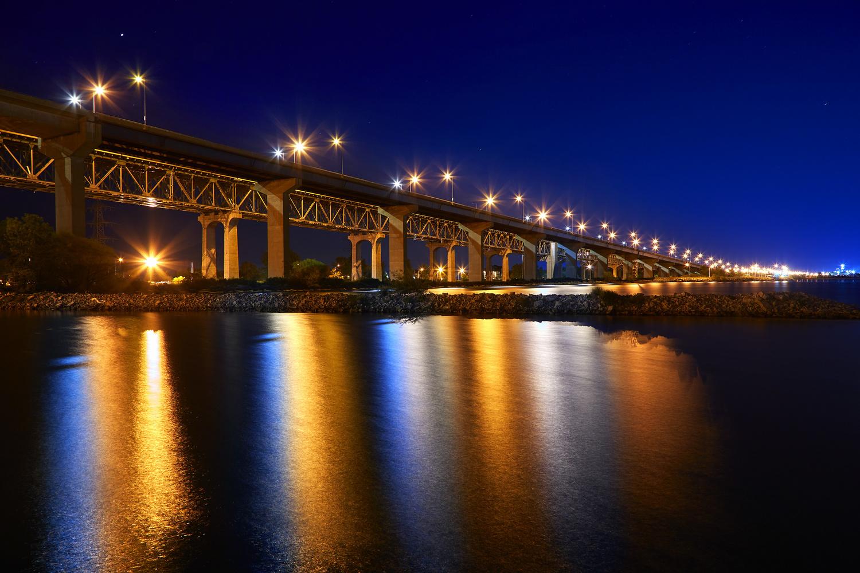 Skyway Bridge by Hank Rintjema