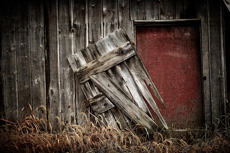 Red Door by Hank Rintjema