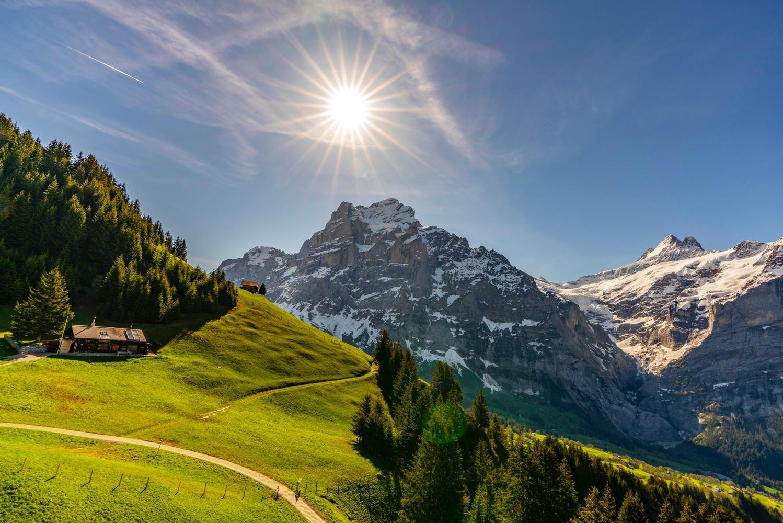 Swiss Hut by Sam Kilman