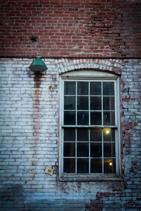 Back Alley Window by Rob Miller